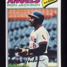 1977 Topps Baseball #153 Ron Jackson RC - California Angels