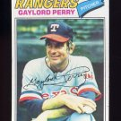 1977 Topps Baseball #152 Gaylord Perry - Texas Rangers P