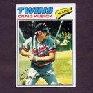 1977 Topps Baseball #038 Craig Kusick - Minnesota Twins NM-M