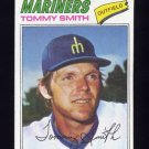 1977 Topps Baseball #014 Tommy Smith - Seattle Mariners