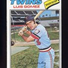 1977 Topps Baseball #013 Luis Gomez RC - Minnesota Twins