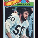 1977 Topps Football #511 Dave Dalby - Oakland Raiders
