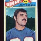 1977 Topps Football #505 Larry Csonka - New York Giants