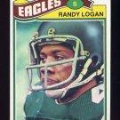 1977 Topps Football #498 Randy Logan - Philadelphia Eagles