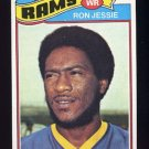 1977 Topps Football #493 Ron Jessie - Los Angeles Rams