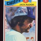 1977 Topps Football #487 Jack Rudnay - Kansas City Chiefs