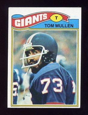 1977 Topps Football #483 Tom Mullen - New York Giants