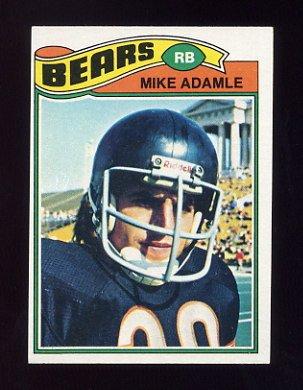1977 Topps Football #481 Mike Adamle - Chicago Bears ExMt