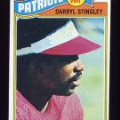 1977 Topps Football #479 Darryl Stingley - New England Patriots