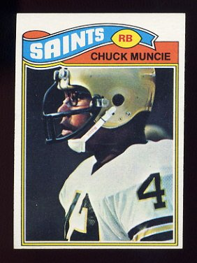 1977 Topps Football #467 Chuck Muncie RC - New Orleans Saints
