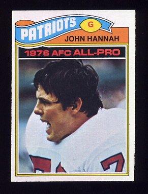 1977 Topps Football #460 John Hannah - New England Patriots