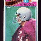 1977 Topps Football #448 Terry Joyce - St. Louis Cardinals
