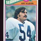 1977 Topps Football #437 Art Kuehn - Seattle Seahawks