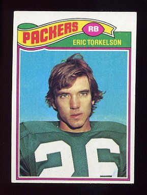 1977 Topps Football 434 Eric Torkelson Green Bay Packers
