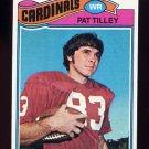 1977 Topps Football #412 Pat Tilley RC - St. Louis Cardinals NM-M