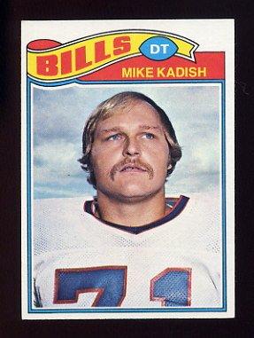 1977 Topps Football #353 Mike Kadish - Buffalo Bills