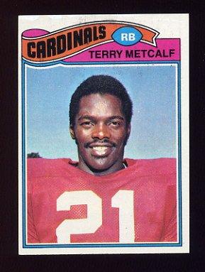 1977 Topps Football #345 Terry Metcalf - St. Louis Cardinals
