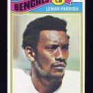1977 Topps Football #325 Lemar Parrish - Cincinnati Bengals