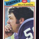 1977 Topps Football #309 Wally Hilgenberg - Minnesota Vikings