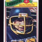 1977 Topps Football #308 Ralph Perretta - San Diego Chargers