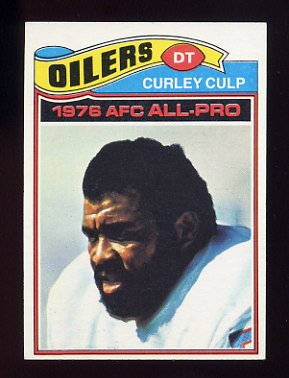 1977 Topps Football #280 Curley Culp - Houston Oilers
