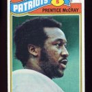 1977 Topps Football #272 Prentice McCray - New England Patriots
