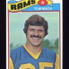 1977 Topps Football #265 Tom Mack - Los Angeles Rams NM-M