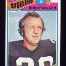 1977 Topps Football #261 Bobby Walden - Pittsburgh Steelers