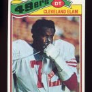1977 Topps Football #247 Cleveland Elam - San Francisco 49ers