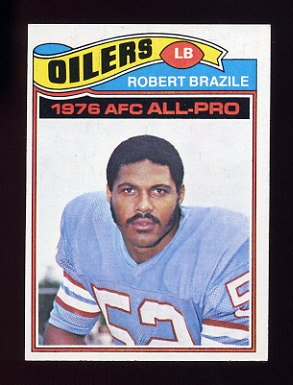 1977 Topps Football #240 Robert Brazile - Houston Oilers