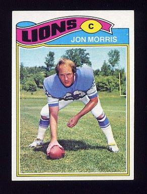 1977 Topps Football #193 Jon Morris - Detroit Lions