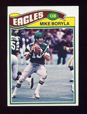 1977 Topps Football #183 Mike Boryla - Philadelphia Eagles