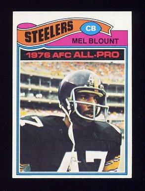 1977 Topps Football #180 Mel Blount - Pittsburgh Steelers