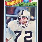 1977 Topps Football #173 John Matuszak - Oakland Raiders