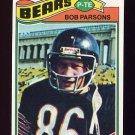 1977 Topps Football #164 Bob Parsons - Chicago Bears
