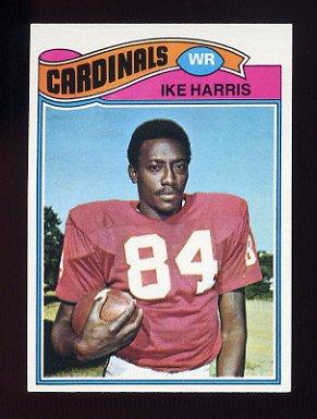 1977 Topps Football #161 Ike Harris - St. Louis Cardinals