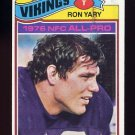 1977 Topps Football #150 Ron Yary - Minnesota Vikings