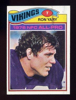 1977 Topps Football #150 Ron Yary - Minnesota Vikings