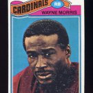 1977 Topps Football #141 Wayne Morris RC - St. Louis Cardinals