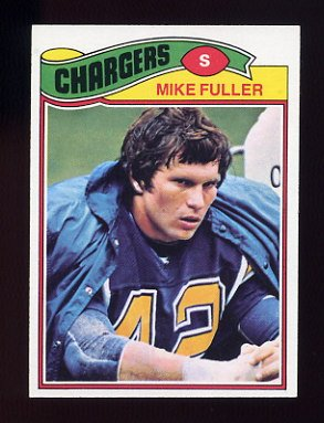 1977 Topps Football #116 Mike Fuller - San Diego Chargers