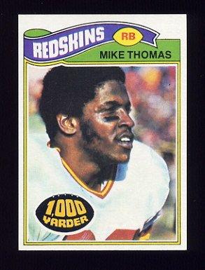1977 Topps Football #115 Mike Thomas - Washington Redskins