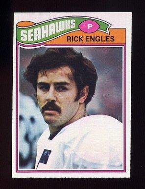 1977 Topps Football #112 Rick Engles - Seattle Seahawks