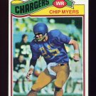 1977 Topps Football #109 Chip Myers - San Diego Chargers