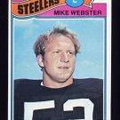 1977 Topps Football #099 Mike Webster RC - Pittsburgh Steelers NM-M
