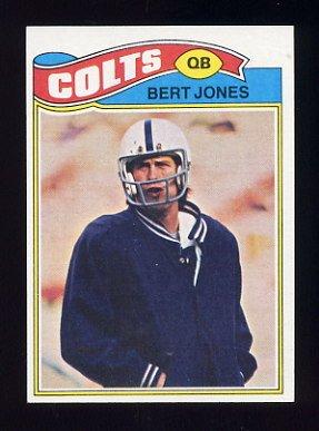 1977 Topps Football #095 Bert Jones - Baltimore Colts