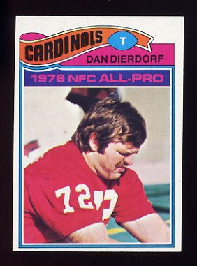 1977 Topps Football #090 Dan Dierdorf - St. Louis Cardinals NM-M