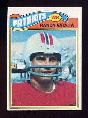 1977 Topps Football #064 Randy Vataha - New England Patriots