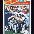1977 Topps Football #045 Roger Staubach - Dallas Cowboys Ex