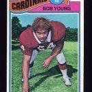 1977 Topps Football #019 Bob Young - St. Louis Cardinals