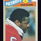 1977 Topps Football #014 Sam Adams - New England Patriots